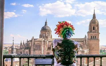 Towers of La Clerecía Salamanca Spain 16
