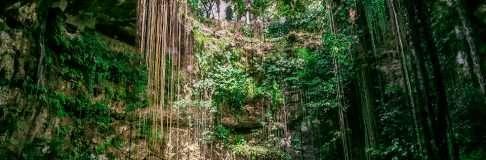Cenote Ik Kil Cancun Mexico Playa del Carmen Tulum 14