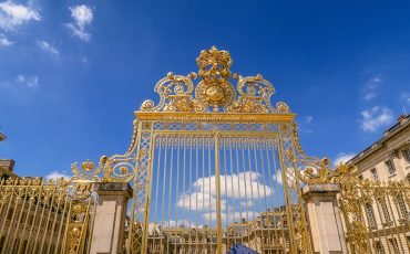 Gold Gate of the Palace of Versailles France Paris 2