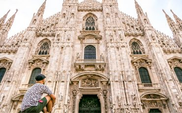 Duomo MIlan Square Facade Italy 2