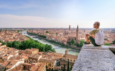 Alain.Panorama Verona – Piazzale Castel San Pietro Italy 3