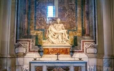 Pieta St Peter Basilica Rome Italy 2