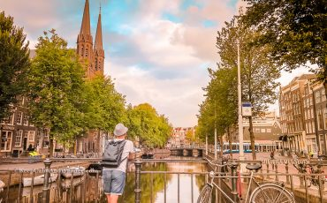 Amsterdam Canal in the Morning Netherlands 12