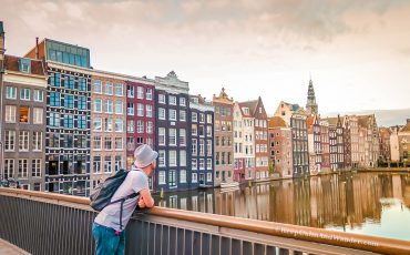 Amsterdam Canal in the Morning Netherlands 4