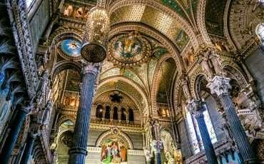Basilica of Notre-Dame de Fourvière Lyon France 2