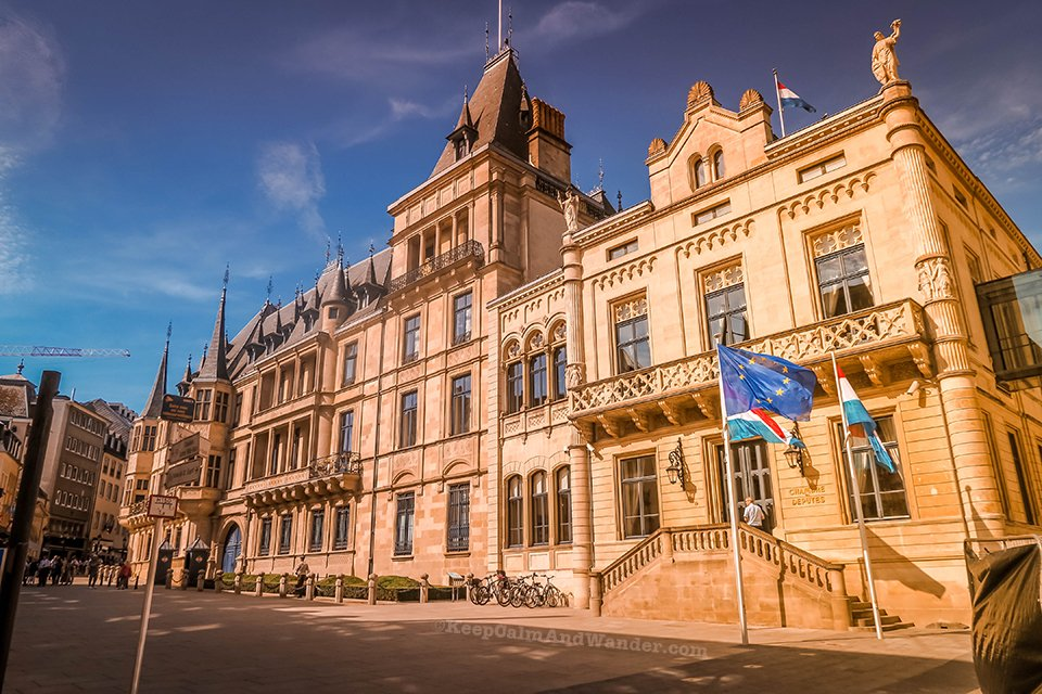 The Grand Ducal Palace in Luxembourg Has Got an Impressive Facade