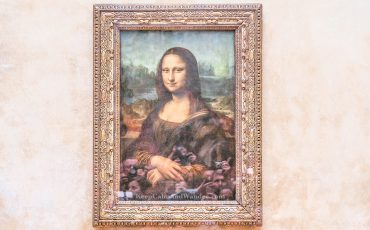 Monalisa Louvre Museum Paris France 3