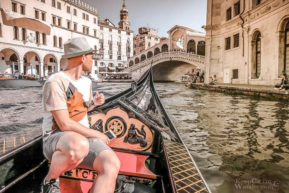Gondolas in Venice Italy 10