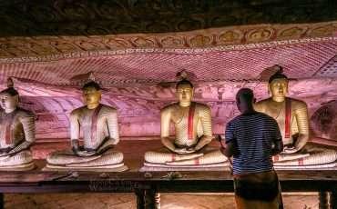 Dambulla Cave Temple Buddhist Sri Lanka 1
