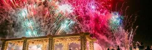Firework.Yanbu Flower Festival 7