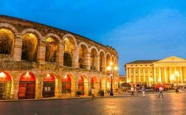 Arena Verona at Night Italy 4