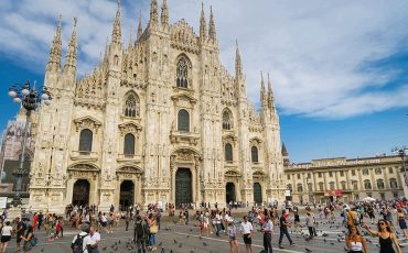 Duomo MIlan Square Facade Italy Things to do in Milan 3