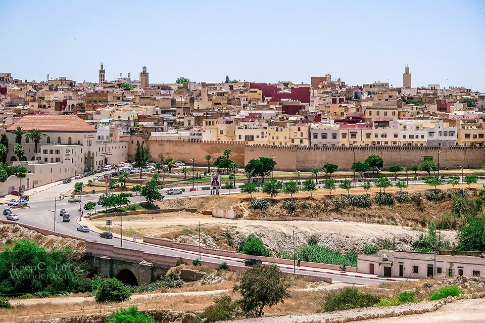 Four Attractions Not to Miss in Meknes (Morocco).