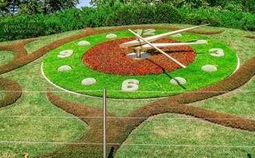 One Day in Geneva Flower Clock Geneva Switzerland