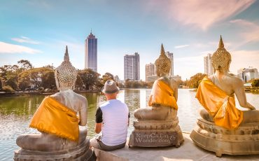 Saleem Malaka Buddhist Temple Colombo Things to do in Colombo