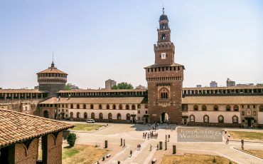 Sforza Castle Castello Sforzesco Milan Italy 9