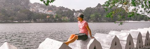 Things to do in Kandy Lake Sri Lanka