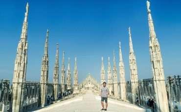 Alain. Milan Cathedral Top Duomo Italy 5
