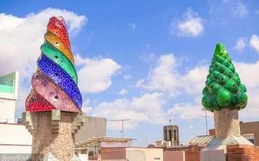 Palau Guell Barcelona Spain 11