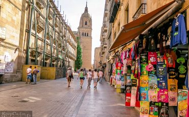 Streets of Salamanca Spain