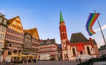 Frankfurt Romerberg Old Town Germany Travel Blog 7