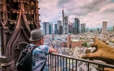 Frankfurt Kaiserdom Tower View Germany Travel Blog Photo 2