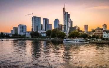 Frankfurt Riverview Skyline Germany 11