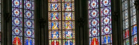 Stained Windows Cologne Cathedral Germany Koln 13 Adoration of the Magi
