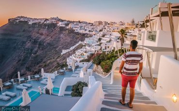 Fira Santorini Sunset Greece 22