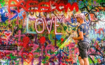 John Lennon Wall Prague 7