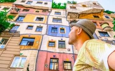 Hundertwasser Houses Villave Vienna 3
