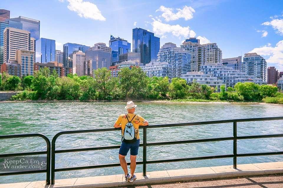 4 Bow River Calgary Skyline