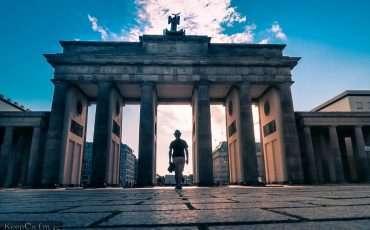 Brandenburg Tor Gate Berlin Germany 2