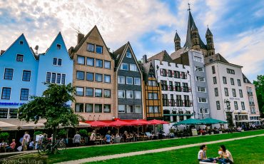 Cologne Old Town Germany Rhine River 9
