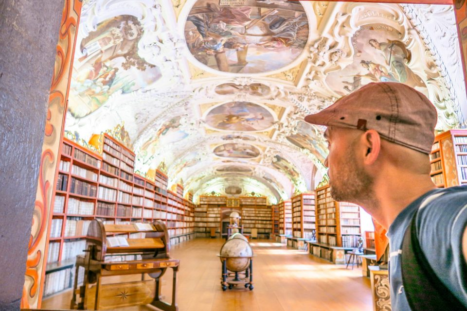 Prague Klementinum and Strahov Monastery Library