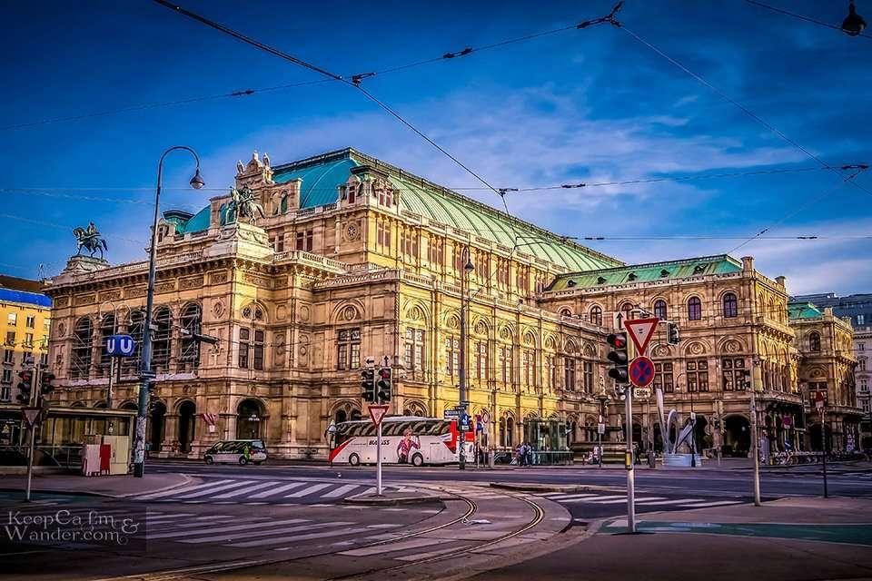 Vienna State Opera House / My Own Walking Tour of Vienna