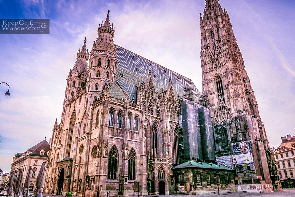 St. Stephen's Cathedral in Vienna / My Own Walking Tour of Vienna