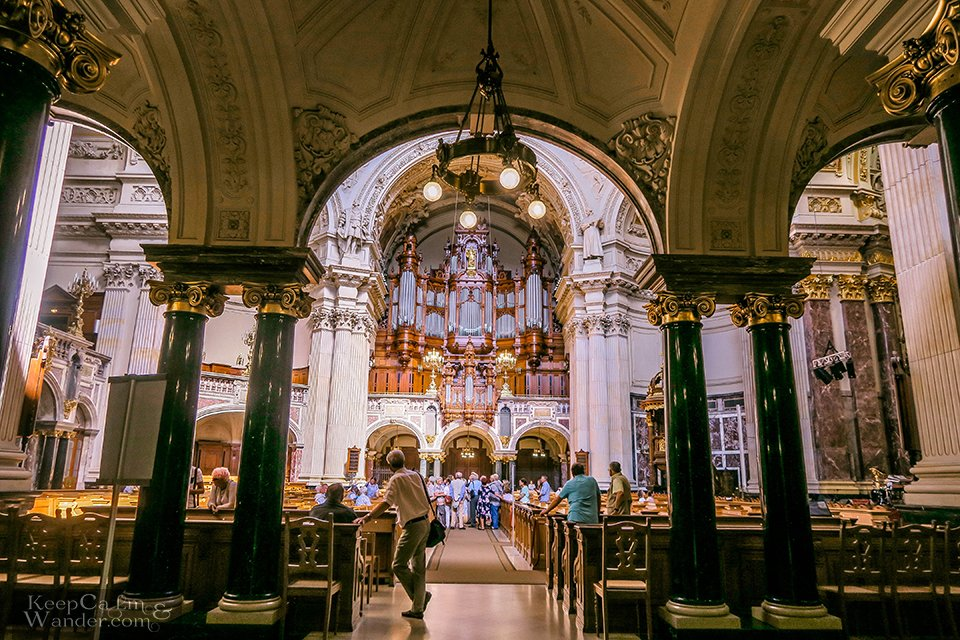 Inside Berlin Cathedral Germany Europe