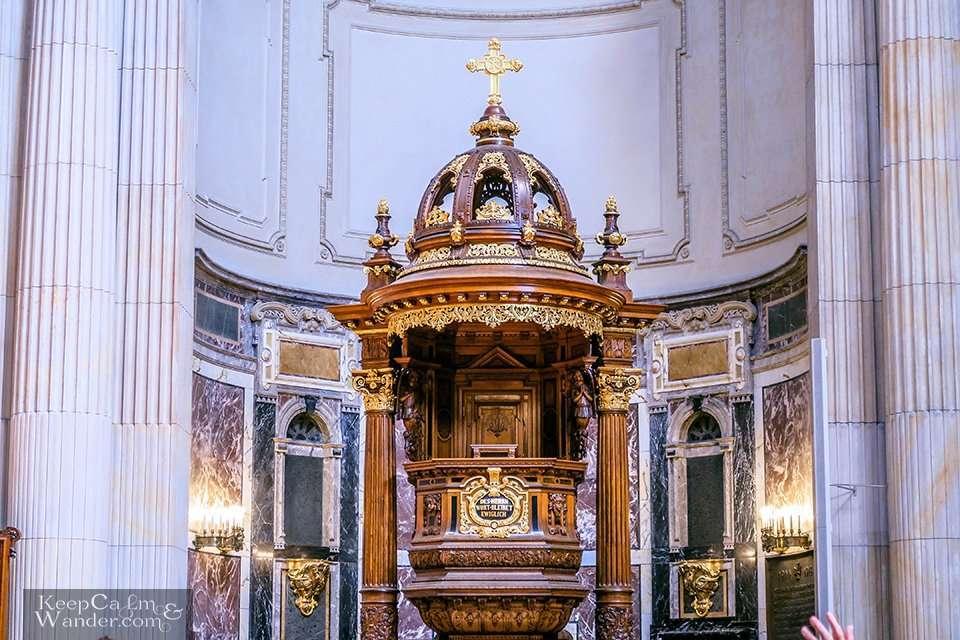 Inside Berlin CathedralDom