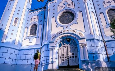 Blue Church Bratislava Slovakia 3