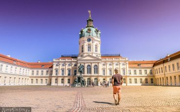 Charelottenburg Palace BERLIN GERMANY 1