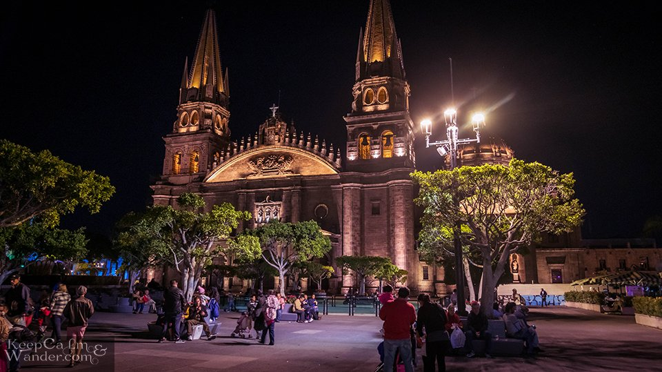 Christmas in Guadalajara (Mexico).