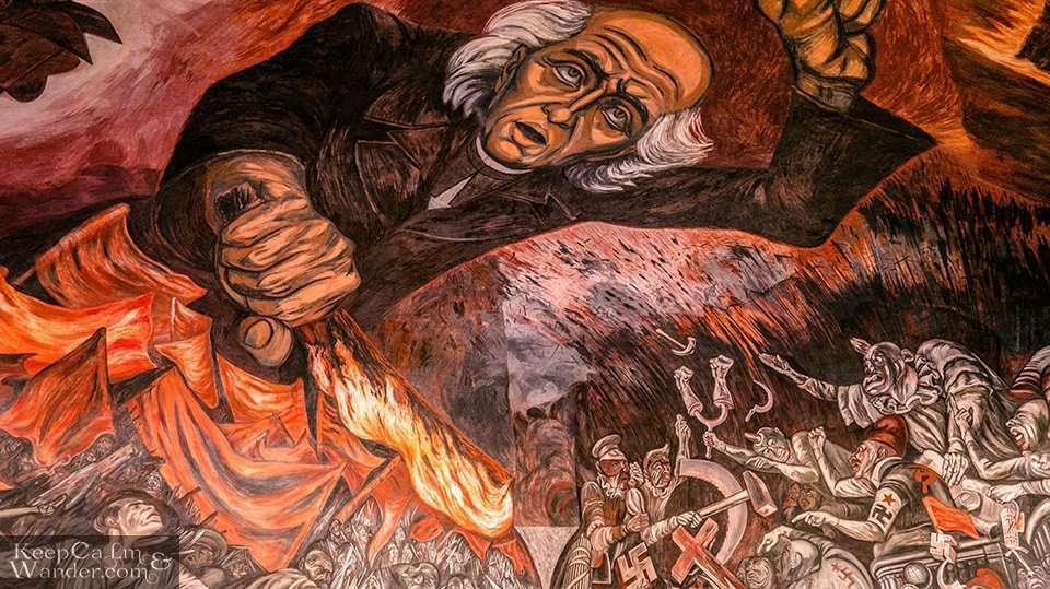 Miguel Hidalgo Mural Guadalajara