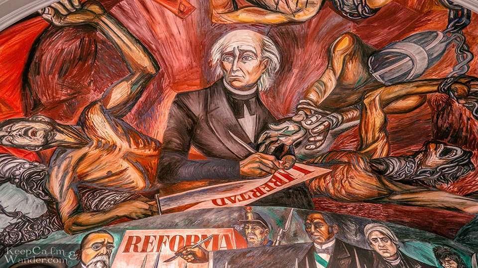 Miguel Hidalgo Mural José Clemente Orozco.