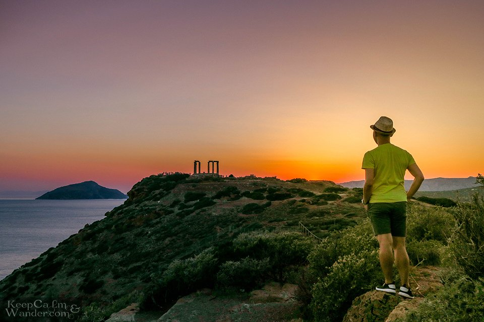 Bus from Athens to Temple of Poseidon Sounion