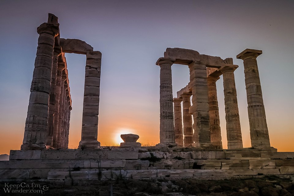 The Temple of Poseidon in Sounion is Where You Should Spend Your Sunset Viewing Outside of Athens