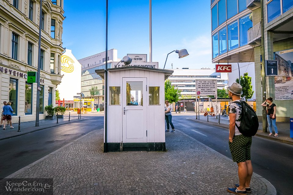 Checkpoint Charlie in Berlin Travel Blog