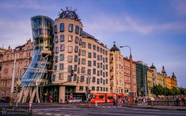 Dancing House in Prague – Who Are These Dancers?