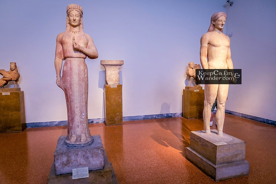 Statue of Korous Greece Museum