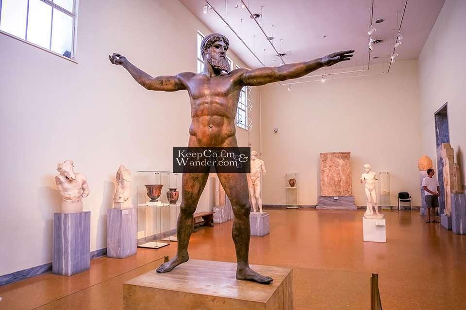 Statue of Poseidon or Zeus